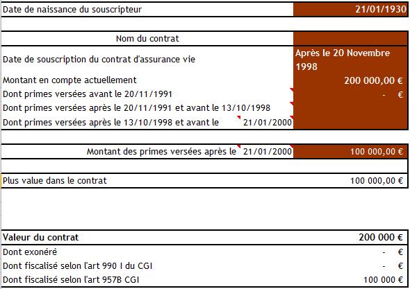 Simulateur Bilan Fiscal Et Successoral De Vos Contrats D Assurance