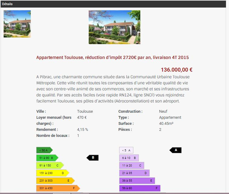 investissement immobilier PINEL Toulouse