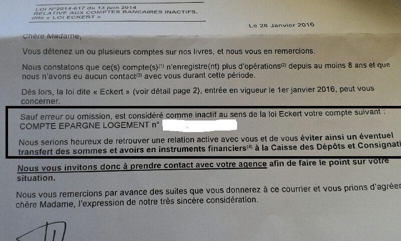 Le Delire Des Comptes Inactifs Depuis La Loi Eckert