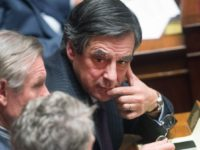 Francois Fillon during the weekly session of the questions to the government ( questions au gouvernement ) at French parliament ( assemblee nationanle ) . Paris, FRANCE - 27/01/2015./CHAMUSSY_Lcham032/Credit:CHAMUSSY/SIPA/1501271830