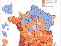 Baisse de la population à PARIS, Périurbanisation, Mouvement migratoire vers le Sud et l'Ouest de la France !
