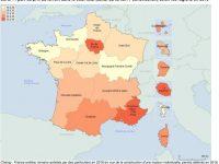 Quel est le prix d'un terrain constructible en France ? La valeur des terrains région par région